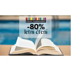 Letní čtení se slevou až 80%