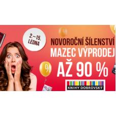 Novoroční šílenství v KnihyDobrovský je tu!