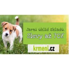 Jarní úklid a s ním slevy až 70% v Krmení.cz