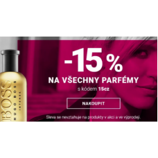 15% sleva na parfémy v Notino