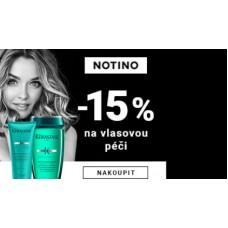 15% sleva na vlasovou péči v Notino