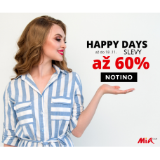 HAPPY DAYS na NOTINO = dárky o 60% levněji