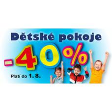 Sconto_Letní akce na dětský nábytek