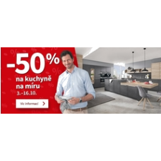 SCONTO.cz - sleva na kuchyň na míru
