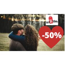 Romantické pobyty se slevou až 50%