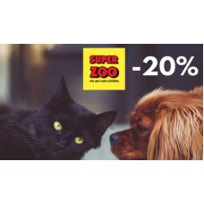 Sleva 20% na celý nákup v Superzoo