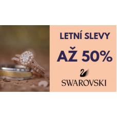 Šperky Swarovski nyní se slevou až 50%
