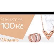 Neuvěřitelná akce od Vivantis. Všechny šperky za 100 Kč!