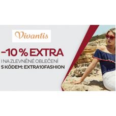 EXTRA sleva 10% na zlevněné oblečení