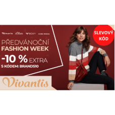 Slevový kód ve Vivantis na módní kousky