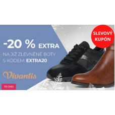 Slevy 20% na obuv ve Vivantis