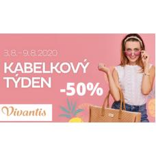 Kabelky se slevou až 50% ve Vivantis