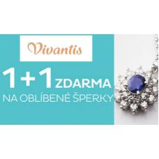 Akce 1 + 1 ZDARMA na šperky ve Vivantisu