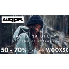 Sleva 50% na módní větrovky ve WOOX