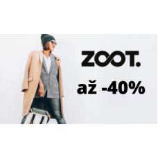 Sleva až 40% na módní kousky v ZOOT