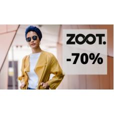 Až 70% sleva na vše v ZOOT!
