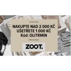 Nakupte nad 2 000 Kč a ušetříte 1 000 Kč