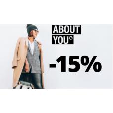 Sleva 15% v AboutYou