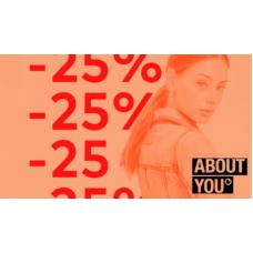 Sleva 25% na přechodné bundy v AboutYou