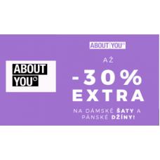 Až 30% sleva EXTRA na šaty!