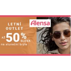 Sleva 50% na sluneční brýle!