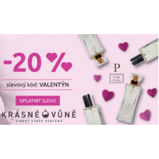 Dámské parfémy se slevou 20%