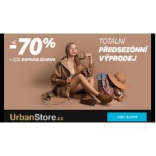 Předsezónní VÝPRODEJ v UrbanStore.cz je tu!