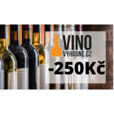 Sleva 250Kč při nákupu vína