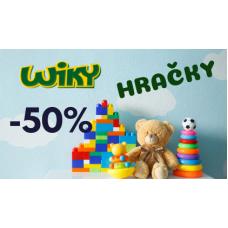 Zimní výprodej hraček ve WikyHračky