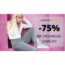 Sleva až 75% na prémiové značky v Zalando Lounge